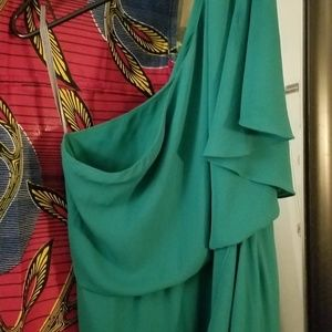 Green BCCBG MaxAzria kendal dress